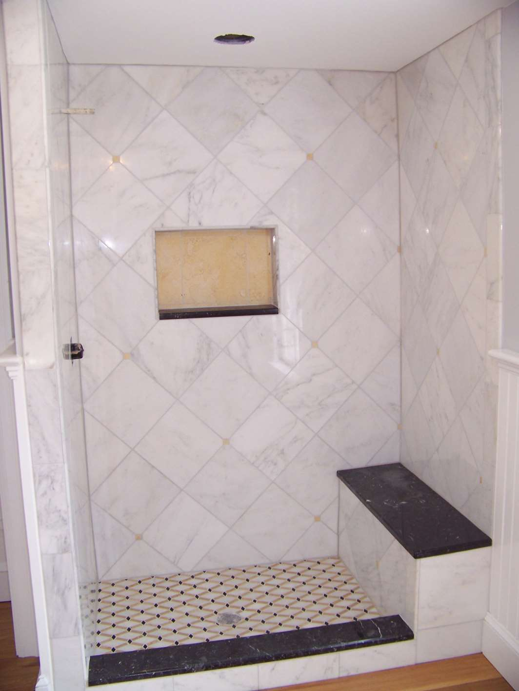 Custom Marble Shower