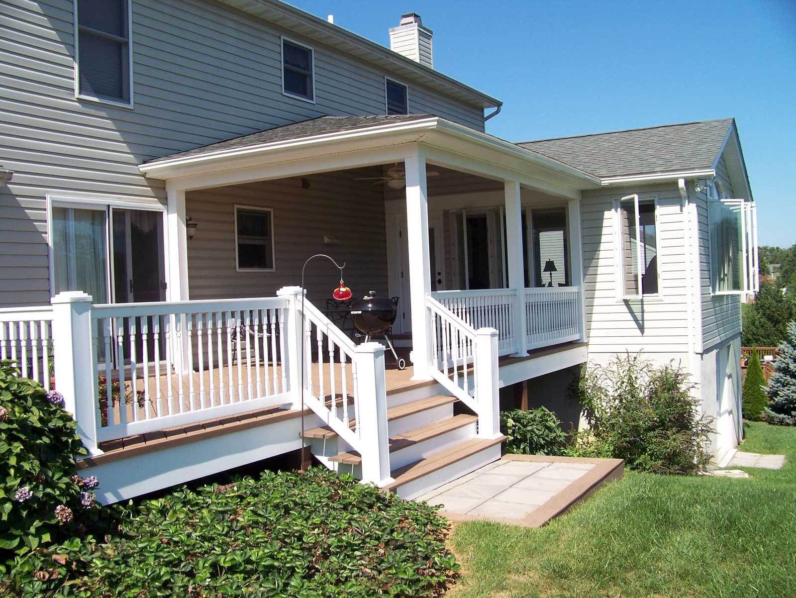 Addition porch and Deck