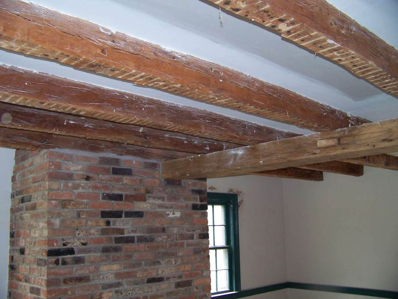 Exposing Old Beams